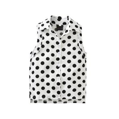 Summer Childrens Clothing Dot Sleeveless Shirt Shorts Girls SuitGirls clothing sets<br>Summer Childrens Clothing Dot Sleeveless Shirt Shorts Girls Suit<br><br>Collar: Turn-down Collar<br>Elasticity: Micro-elastic<br>Fabric Type: Broadcloth<br>Material: Cotton<br>Package Contents: 1 x Suit<br>Pattern Type: Polka Dot<br>Shirt Length: Regular<br>Sleeve Length: Sleeveless<br>Style: Leisure<br>Weight: 0.2500kg