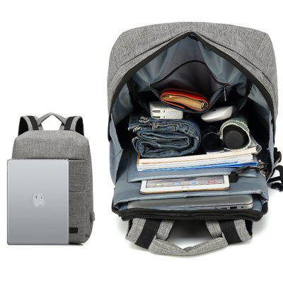 AUGUR Fashion Backpacks USB Charging Men Women Casual Travel Teenager Student Laptop School BagsBackpacks<br>AUGUR Fashion Backpacks USB Charging Men Women Casual Travel Teenager Student Laptop School Bags<br><br>Backpack Capacity: 21~40L<br>For: Other<br>Material: Polyester<br>Package Contents: 1 x Backapck<br>Package size (L x W x H): 34.00 x 8.00 x 46.00 cm / 13.39 x 3.15 x 18.11 inches<br>Package weight: 0.8600 kg<br>Product weight: 0.8500 kg<br>Type: Backpack