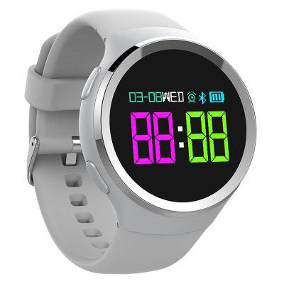 K18 Smart Watch IP68 Waterproof Heart Rate Monitor Fitness Tracker Pedometer Smartwatch with OLED Screen