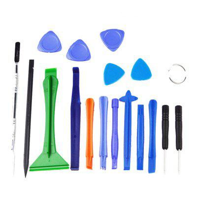 AETOOL Universal 18 in 1 Mobile Phone Opening Repair Disassemble Tools Set Kit for IPhone/Samsung