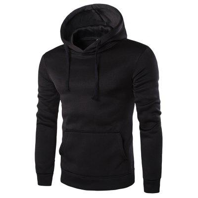 2018 New Solid Color Couple Long-Sleeved Men's Hoodies