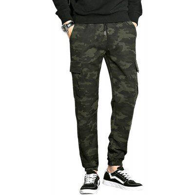 Camouflage Knitted and Casual Fashion Trousers