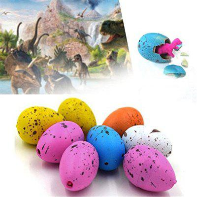 Growing Dinosaur Eggs Hatching Toys Water Kids Educational Novelty 60PCS