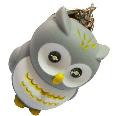 Glowing Owl Keychain StrapKey Chains<br>Glowing Owl Keychain Strap<br><br>Design Style: Fashion<br>Gender: Unisex<br>Materials: ABS<br>Package Contents: 1 x Keychain<br>Package size: 5.00 x 5.00 x 7.00 cm / 1.97 x 1.97 x 2.76 inches<br>Package weight: 0.2000 kg<br>Product size: 4.60 x 4.50 x 6.50 cm / 1.81 x 1.77 x 2.56 inches<br>Theme: Animals