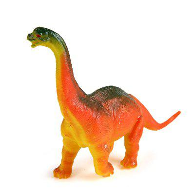 Static State Brachiosaurus Model Toy Orange