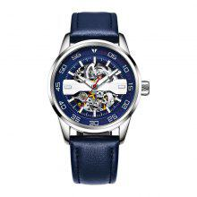 OCHSTIN 62002 Automatic Mechanical Leather Fashion Men Watch