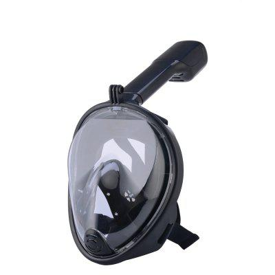 180 Degree Wide View Full Face Anti-leak Anti-fog Diving Snorkeling Mask Size S/M