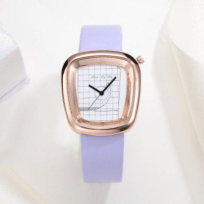 Fanteeda FD004 Women Leather Band Unique Quartz Watch Rose Golden ToneWomens Watches<br>Fanteeda FD004 Women Leather Band Unique Quartz Watch Rose Golden Tone<br><br>Band material: PU Leather<br>Band size: 23.5 x 1.8 CM<br>Case material: Alloy<br>Clasp type: Pin buckle<br>Dial size: 3.2 x 3.5 x 0.9 CM<br>Display type: Analog<br>Movement type: Quartz watch<br>Package Contents: 1 x Watch<br>Package size (L x W x H): 26.00 x 5.00 x 1.00 cm / 10.24 x 1.97 x 0.39 inches<br>Package weight: 0.0390 kg<br>Product size (L x W x H): 23.50 x 3.20 x 0.90 cm / 9.25 x 1.26 x 0.35 inches<br>Product weight: 0.0380 kg<br>Shape of the dial: Trapezoidal<br>Watch mirror: Mineral glass<br>Watch style: Fashion, Business, Retro, Lovely, Wristband Style, Jewellery, Casual<br>Watches categories: Women,Female table<br>Water resistance: Life water resistant