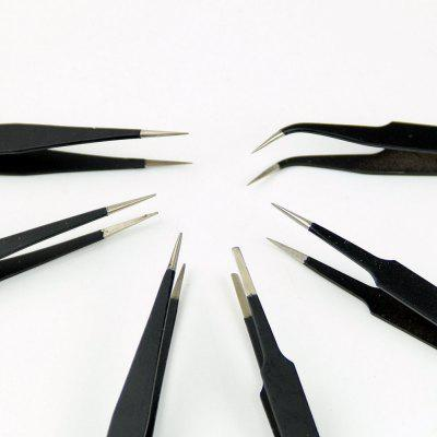 6pcs ESD Anti-Static Tweezers ESD10 to ESD15DIY Parts &amp; Components<br>6pcs ESD Anti-Static Tweezers ESD10 to ESD15<br><br>Package Contents: 6 x ESD Tweezers<br>Package Size(L x W x H): 18.00 x 14.00 x 1.00 cm / 7.09 x 5.51 x 0.39 inches<br>Package weight: 0.1340 kg