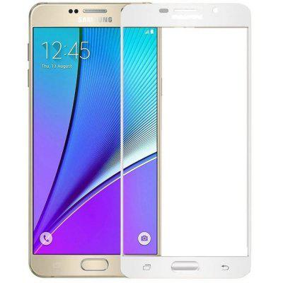 2PCS Screen Protector for Samsung Galaxy A7 2016 HD 3D Full Coverage Anti-Explosion High Sensitivit Tempered Glass