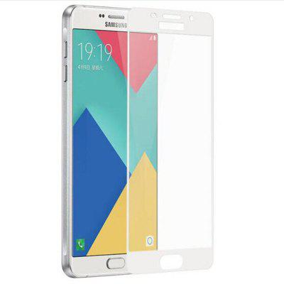 2PCS Screen Protector for Samsung Galaxy A9 Pro HD 3D Full Coverage Anti-Explosion High Sensitivit Tempered Glass