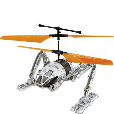 Attop IDR902 RC Helicopter with High Power Moter / 6 - axis Gyroscope / Buffer Taxiing Wheel