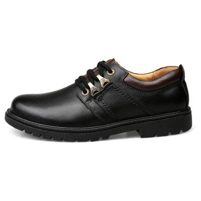 Leather Rubber Sole Man ShoesFormal Shoes<br>Leather Rubber Sole Man Shoes<br><br>Available Size: 41 42 43 44<br>Closure Type: Lace-Up<br>Embellishment: None<br>Gender: For Men<br>Outsole Material: Rubber<br>Package Contents: 1 xshoes(pair)<br>Pattern Type: Solid<br>Season: Spring/Fall<br>Toe Shape: Round Toe<br>Toe Style: Closed Toe<br>Upper Material: Full Grain Leather<br>Weight: 1.9800kg