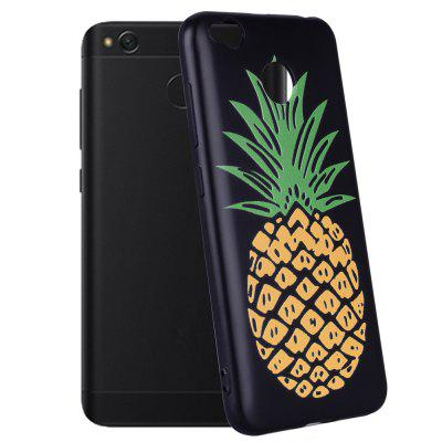 Case For  Xiaomi Redmi 4X Pineapple Pattern Soft TPU Case