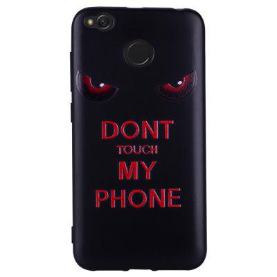 Case For  Xiaomi Redmi 4X Red Eye Pattern Soft TPU Case