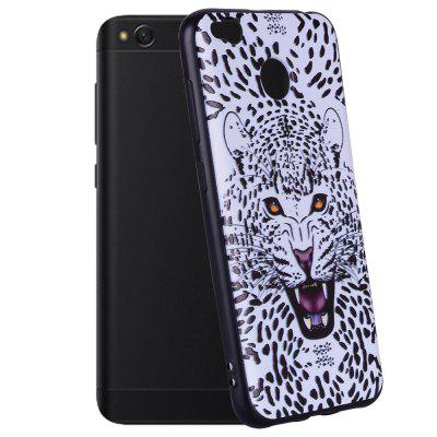 Case For  Xiaomi Redmi 4X Leopard Pattern Soft TPU Case