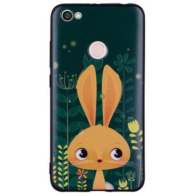 Case For Xiaomi Redmi NOTE5A Rabbit Design Soft TPU Hand Case