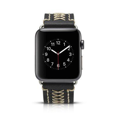 Watch Strap Leather Strap Is Suitable for Apple Watch 3/2iPhone Cables &amp; Adapters<br>Watch Strap Leather Strap Is Suitable for Apple Watch 3/2<br><br>Material: Genuine Leather<br>Package Contents: 1 x strap<br>Package size (L x W x H): 18.00 x 10.00 x 4.00 cm / 7.09 x 3.94 x 1.57 inches<br>Package weight: 0.0200 kg<br>Product size (L x W x H): 23.00 x 2.60 x 0.50 cm / 9.06 x 1.02 x 0.2 inches<br>Product weight: 0.0100 kg<br>Type: Smart watch / wristband band