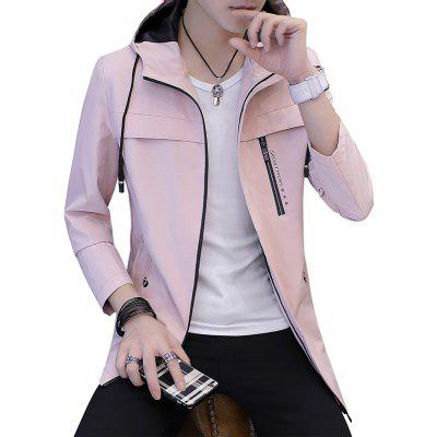 Men's Spring and Autumn 2018 New Handsome Self-cultivation Jacket
