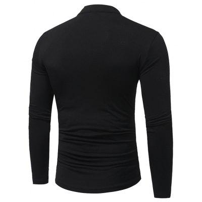 New MenS Fashion V-Neck Drawstring Tie Color Long-Sleeved T-Shirt Tide Men Slim T-ShirtMens Long Sleeves Tees<br>New MenS Fashion V-Neck Drawstring Tie Color Long-Sleeved T-Shirt Tide Men Slim T-Shirt<br><br>Collar: Stand-Up Collar<br>Material: Cotton Blends<br>Package Contents: 1X T-Shirt<br>Pattern Type: Patchwork<br>Sleeve Length: Full<br>Style: Fashion<br>Weight: 0.2600kg
