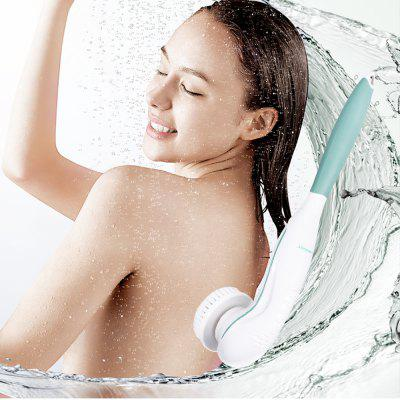 TOUCHBeauty TB-07599 Facial Cleansing and Body Brush 2 in 1 Face and Shower Back