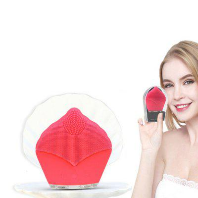 Facial Cleanser Brush Silicone Portable Ultrasonic Vibration Facial MassagerSkin Care<br>Facial Cleanser Brush Silicone Portable Ultrasonic Vibration Facial Massager<br><br>Package Contents: 1XHost<br>Package size (L x W x H): 8.40 x 10.00 x 3.00 cm / 3.31 x 3.94 x 1.18 inches<br>Package weight: 0.1000 kg