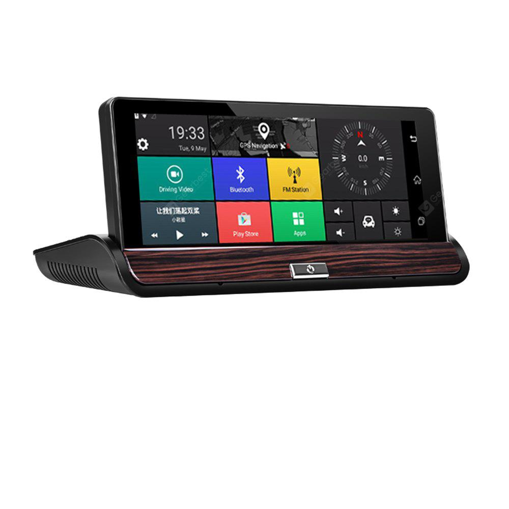 V40 7 InchTouch Android 3G Rear View Mirror DVR GPS Car WIFI Video Recorder Auto Trace Camera FHD 1080P Dual
