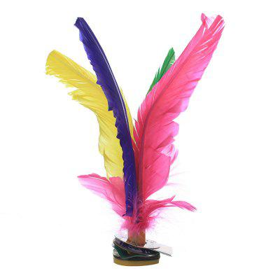 Six Professional Chinese Sports Badminton Special Game Plays Feather Shuttlecock