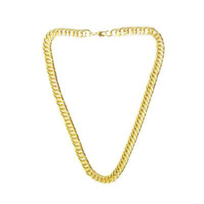 Rough Gold Necklace Men Domineering Soil Hao Alloy Necklace