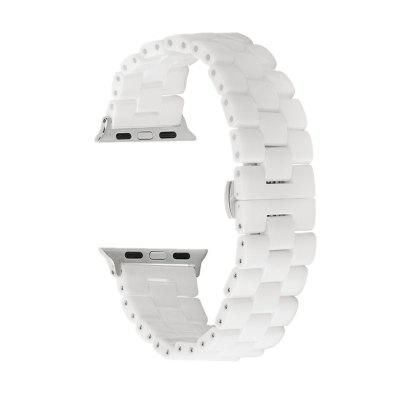 Ceramic Watch Band Replacement Strap Bracelet for Apple Watch Series 3 / 2 / 1 38MM