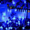 1PC USB Power 10M 60LEDS Led Luces de cadena 8MODES Five Star Star Acentuado Navidad Año Nuevo Wedding Party Dormitorio DC5V - AZUL CLARO