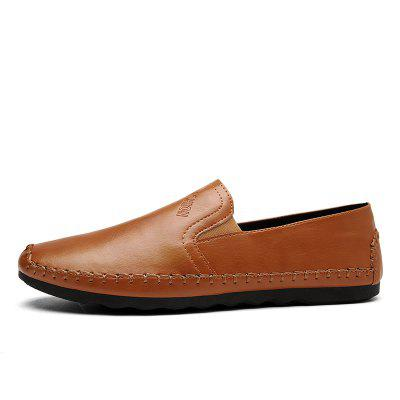 Casual Simple Style Formal Shoes For MenFlats &amp; Loafers<br>Casual Simple Style Formal Shoes For Men<br><br>Available Size: 40,41,42,43,44<br>Closure Type: Slip-On<br>Embellishment: None<br>Gender: For Men<br>Occasion: Party<br>Outsole Material: Rubber<br>Package Contents: 1xShoes(pair)<br>Pattern Type: Others<br>Season: Summer, Winter, Spring/Fall<br>Toe Shape: Round Toe<br>Toe Style: Closed Toe<br>Upper Material: PU<br>Weight: 1.2000kg