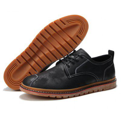 Casual Simple Style Breathable Formal Shoes For MenMen's Oxford<br>Casual Simple Style Breathable Formal Shoes For Men<br><br>Available Size: 40,41,42,43,44<br>Closure Type: Lace-Up<br>Embellishment: None<br>Gender: For Men<br>Occasion: Party<br>Outsole Material: Rubber<br>Package Contents: 1xShoes(pair)<br>Pattern Type: Others<br>Season: Summer, Winter, Spring/Fall<br>Toe Shape: Round Toe<br>Toe Style: Closed Toe<br>Upper Material: Leather<br>Weight: 1.2000kg