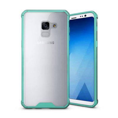 Case for Samsung Galaxy A8 2018 Shockproof Transparent Back Cover Hard Acrylic