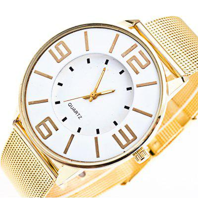 Cooho Fashion Mesh Band Creative Casual Quartz WatchesMens Watches<br>Cooho Fashion Mesh Band Creative Casual Quartz Watches<br><br>Band material: Zinc Alloy<br>Case material: Alloy<br>Clasp type: Pin buckle<br>Display type: Analog<br>Movement type: Quartz watch<br>Package Contents: 1 x Cooho Watch<br>Package size (L x W x H): 25.00 x 5.00 x 1.00 cm / 9.84 x 1.97 x 0.39 inches<br>Package weight: 0.0450 kg<br>Product size (L x W x H): 24.00 x 4.00 x 1.00 cm / 9.45 x 1.57 x 0.39 inches<br>Product weight: 0.0450 kg<br>Shape of the dial: Round<br>Watch style: Casual, Fashion, Business<br>Watches categories: Men<br>Water resistance: Life water resistant
