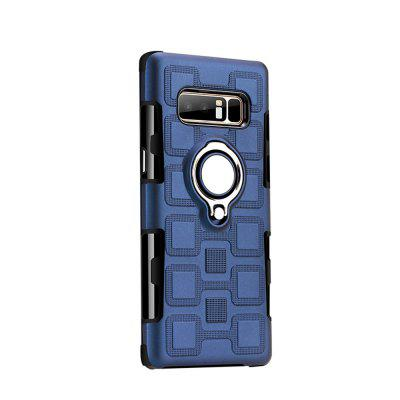 Cover Case for Samsung Galaxy Note 8 Car Holder Stand Magnetic Suction Finger Ring PC+TPU Armor