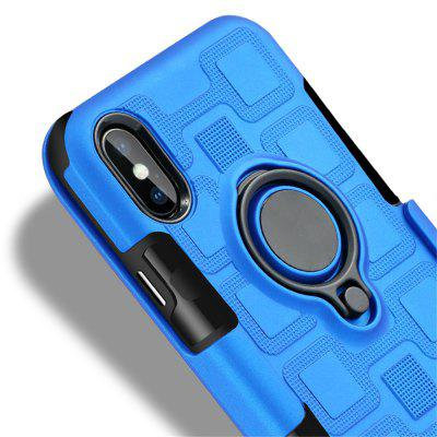 Cover Case for iPhone X Car Holder Stand Magnetic Suction Finger Ring PC+TPU ArmoriPhone Cases/Covers<br>Cover Case for iPhone X Car Holder Stand Magnetic Suction Finger Ring PC+TPU Armor<br><br>Compatible for Apple: iPhone X<br>Features: Back Cover, Cases with Stand, Button Protector, Anti-knock<br>Material: PC, TPU<br>Package Contents: 1 x Phone Case<br>Package size (L x W x H): 20.00 x 10.00 x 1.50 cm / 7.87 x 3.94 x 0.59 inches<br>Package weight: 0.0450 kg<br>Product weight: 0.0400 kg<br>Style: Solid Color, Cool