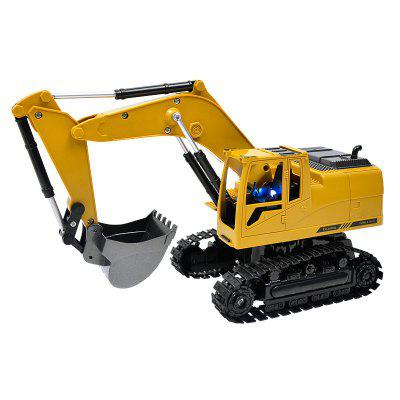 1:24 2.4GHz  8CH RC Alloy Excavator