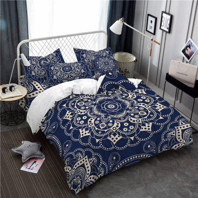 Royal Luxury Classic Elegance Active Dyeing Exquisite Jacquard Bedding Bedding Three Piece Retro SK07 Code
