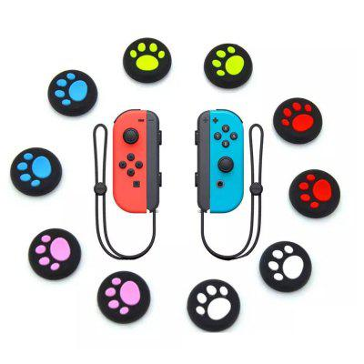 10pcs Silicone Analog Controller Joystick Thumb Stick Grip Cap Cover for  Nintendo Switch