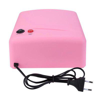 Professional Gel Nail Polish Dryer 36W UV LED Lamp EU Plug Nail Lamp Curing Light Nail Art DryerUV Lamp<br>Professional Gel Nail Polish Dryer 36W UV LED Lamp EU Plug Nail Lamp Curing Light Nail Art Dryer<br><br>Application: Finger Nail, Toe Nail<br>Package Contents: 1 x Nail Dryer<br>Package size (L x W x H): 25.00 x 21.50 x 10.00 cm / 9.84 x 8.46 x 3.94 inches<br>Package weight: 0.6000 kg<br>Power (W): 36W<br>Product size (L x W x H): 22.50 x 20.00 x 9.20 cm / 8.86 x 7.87 x 3.62 inches<br>Season: All seasons
