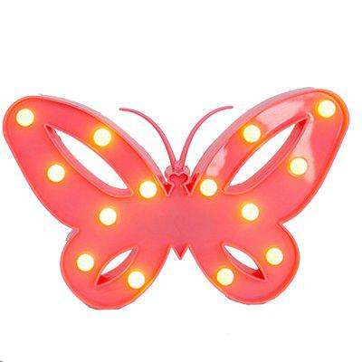 Creative Butterfly Modeling Lamp LED Lights Children Room Dormitory Decoration