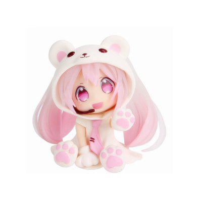 6CM Pink Bear Sexy Lovely Cute Cartoon Doll Action Figure