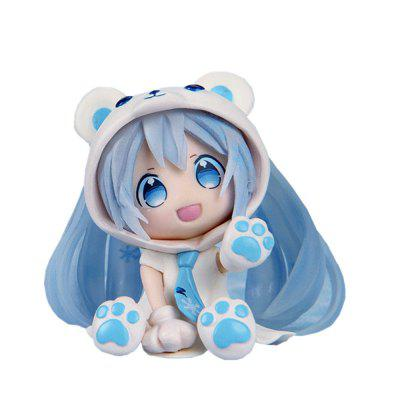6CM Blue Bear Sexy Lovely Cute Cartoon Doll Action Figure