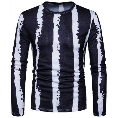 New Splicing Men's Casual Fashion T-Shirts
