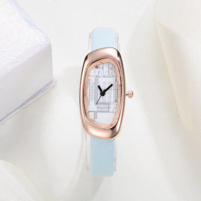 Fanteeda FD019 Women Unique Case Leather Band Quartz WatchWomens Watches<br>Fanteeda FD019 Women Unique Case Leather Band Quartz Watch<br><br>Band material: Leather<br>Band size: 21 x 1 CM<br>Case material: Alloy<br>Clasp type: Pin buckle<br>Dial size: 2 x 5 x 0.7 CM<br>Display type: Analog<br>Movement type: Quartz watch<br>Package Contents: 1 x Watch<br>Package size (L x W x H): 26.00 x 5.00 x 1.00 cm / 10.24 x 1.97 x 0.39 inches<br>Package weight: 0.0220 kg<br>Product size (L x W x H): 21.00 x 2.00 x 0.70 cm / 8.27 x 0.79 x 0.28 inches<br>Product weight: 0.0210 kg<br>Shape of the dial: Irregular<br>Watch mirror: Mineral glass<br>Watch style: Fashion, Business, Retro, Lovely, Wristband Style, Jewellery, Casual<br>Watches categories: Women,Female table<br>Water resistance: Life water resistant