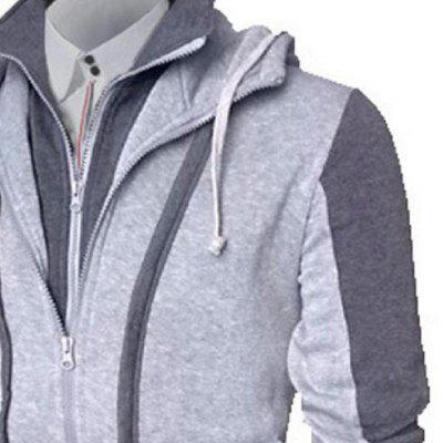 Autumn and Winter Cardigan Plus Size JacketMens Jackets &amp; Coats<br>Autumn and Winter Cardigan Plus Size Jacket<br><br>Clothes Type: Jackets<br>Collar: Hooded<br>Material: Cotton, Polyester<br>Package Contents: 1x Jacket<br>Season: Fall, Winter<br>Shirt Length: Regular<br>Sleeve Length: Long Sleeves<br>Style: Casual<br>Weight: 0.5000kg