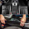 Car Seat Crevice Storage  Auto Phone Holder Bag Pouch Gap Keys Smoke Wallet Organizer Styling Accessory - BLACK
