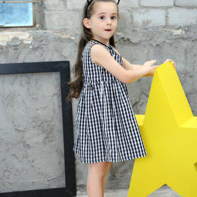 New Girls Cotton Plaid DressGirls dresses<br>New Girls Cotton Plaid Dress<br><br>Dresses Length: Knee-Length<br>Material: Cotton<br>Package Contents: 1 x Dress<br>Pattern Type: Plaid<br>Silhouette: A-Line<br>Style: British<br>Weight: 0.1100kg<br>With Belt: No
