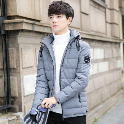Mens Short Casual Cotton Padded CoatMens Jackets &amp; Coats<br>Mens Short Casual Cotton Padded Coat<br><br>Clothes Type: Padded<br>M9862HX: None<br>Materials: Polyester<br>Package Content: 1 x  Coat<br>Package size (L x W x H): 1.00 x 1.00 x 1.00 cm / 0.39 x 0.39 x 0.39 inches<br>Package weight: 0.8000 kg<br>Size1: M,L,XL,4XL,2XL,3XL